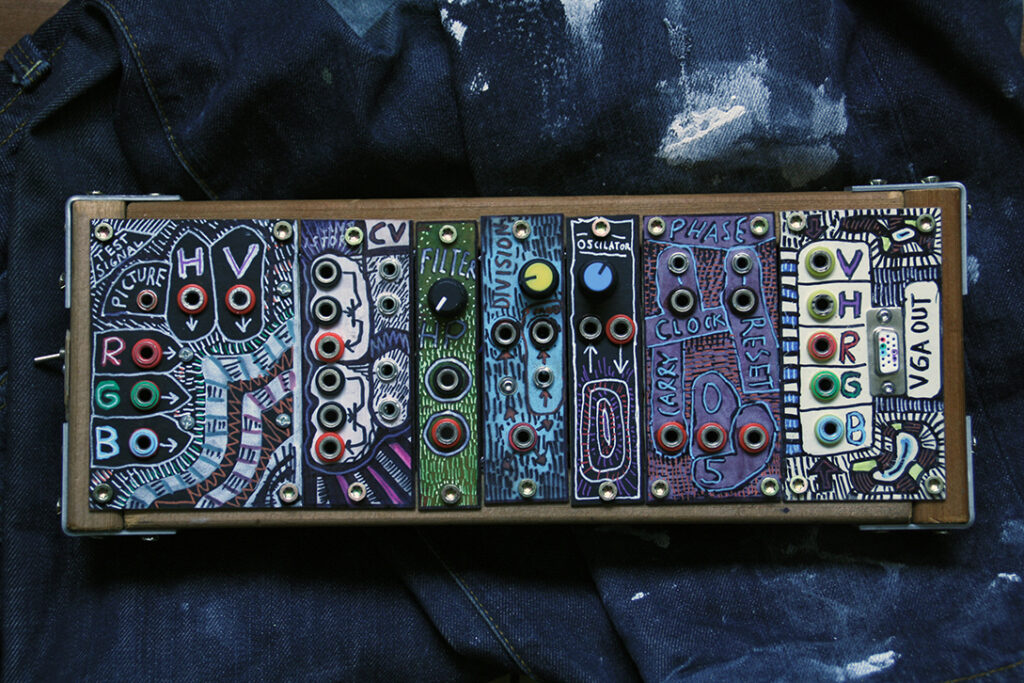 modular video synthesizer