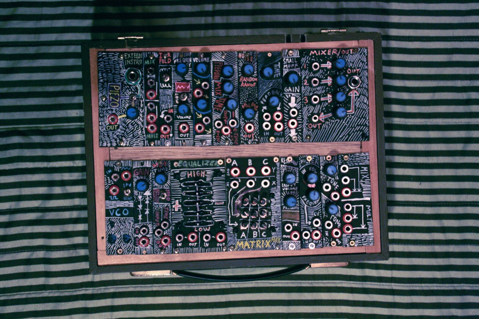 Modular Noise Synthesizer Case